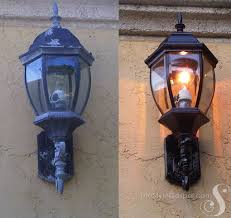 awesome outside light fixtures repainting my outdoor light