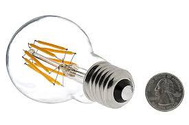 a19 led bulb 50 watt equivalent led filament bulb 12v dc 490