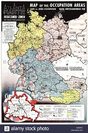 Map Of Austria And Germany by Cartography Maps Germany And Austria Allied Zones Of Occupation