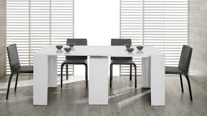 Contemporary White Dining Room Sets - white modern table sets for your dining room cute furniture