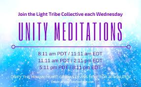 unity meditation wednesday amplifying highest outcomes sandra