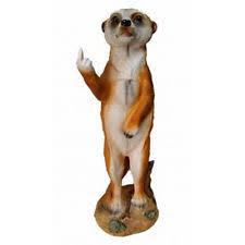 meerkat garden statues ornaments ebay