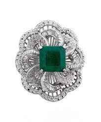 diamond cocktail rings emerald diamond cocktail ring carat crush