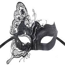 black and white mardi gras masks masquerade mask venetian butterfly shiny metal mardi