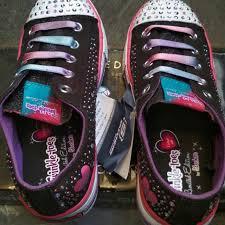 Sepatu Sketcher Anak Perempuan skechers original skechers anak twinkle toes light up lu