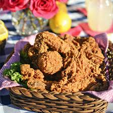 southern fried picnic chicken american lifestyle magazine issue
