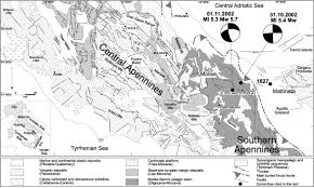 Map Of Puglia Italy by The October U2013november 2002 Molise Seismic Sequence Southern Italy