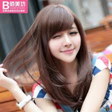 cute hairstyles for round faces and long hair cute hairstyles for girls with shoulder length hair korean haircut