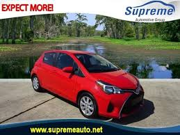 toyota yaris or ford 2016 toyota yaris 5dr l in laplace la orleans toyota yaris