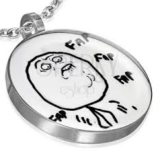 Fap Fap Meme - stainless steel meme face pendant fap fap fap jewellery eshop eu