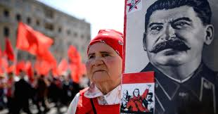 Joseph Stalin Flag In Pictures May Day Demonstrations And Celebrations From Across