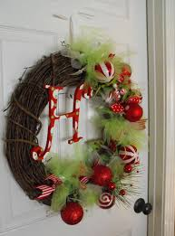exquisite christmas wreaths ideas presenting rounded dry twigs