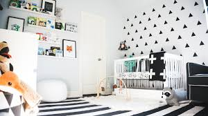 the millennial mama ashton u0027s monochrome nursery