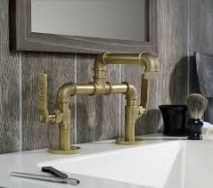 Industrial Faucets Kitchen Customizable Industrial Style Faucet Design From Watermark