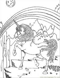rainbow unicorn coloring pages resolution coloring rainbow