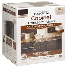 how to clean espresso cabinets rust oleum gloss cabinet espresso interior paint kit in