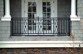 Banister Options Front Porch With Wrought Iron Railings Google Search Stair