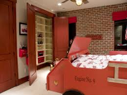 Fire Station Boys Bedroom Bedrooms Boys And Fire Truck Room - Firefighter kids room