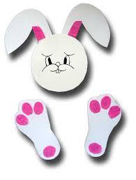 paper crafts for children paper plate easter bunny basket