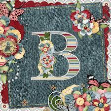 Monogram Letter B Sweet Surprises Monogram Letter B Digital Art By Debra Miller