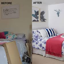 before and after from dumping ground two in one spare room