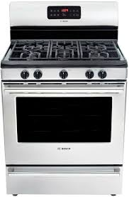 hgs5053uc bosch evolution 500 series freestanding gas range
