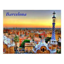 picture postcards barcelona spain postcards zazzle