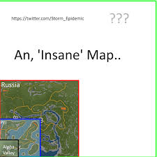Map Size Comparison Insane Map Sized Map Wip Unturned