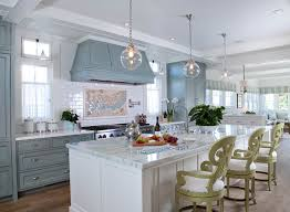 french blue kitchen cabinets extensive beach house renovation home bunch interior french blue