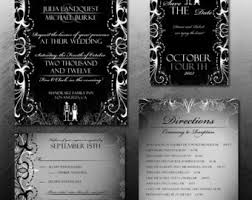 wedding invitations quincy il rockabilly wedding invitations and stationery package retro
