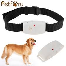 Petforu Ultrasonic Dog Repeller collar with LED Indicator Repells
