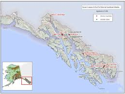 Alaska Map Images by Snotel And Snow Course Sites In Southeast Alaska Nrcs Alaska