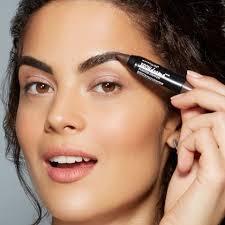 review tutorial make up natural wardah eye studio brow drama sculpting eyebrow gel mascara maybelline