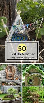50 Diy Miniature Fairy Garden Design Ideas Interiorsherpa Diy Garden Design