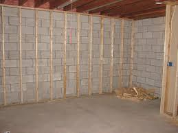 framing a basement wall home design