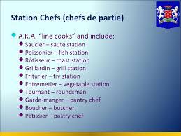 chef de cuisine definition kitchenbrigade