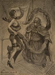 Tentacle Rape Galleries - saddler vs ada wong by pavel bulgakov on deviantart