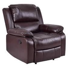 Recliner Sofa Costway Rakuten Costway Manual Recliner Sofa Lounge Chair Pu