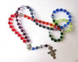 franciscan crown rosary franciscan crown rosaries and other handmade by secondarycreations
