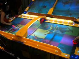 outdoor air hockey table skate air hockey at punch lien booth iaapa mov youtube