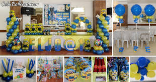 minions party supplies minions despicable me cebu balloons and party supplies