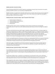 Venture Capital Resume Resume Reel Services