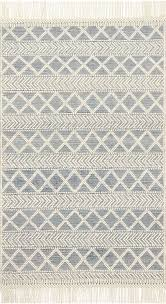 Ivory Area Rug Holloway Yh 03 Navy Ivory Area Rug Magnolia Home By Joanna