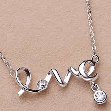 love pearl necklace images Love pearl necklace mountings necklace pendant findings necklace jpg