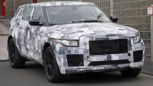 modified range rover evoque jaguar crossover spied wearing modified range rover evoque body
