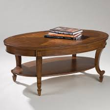 Elegant Coffee Tables by Magnussen T1052 Aidan Wood Oval Coffee Table Hayneedle