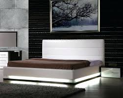 bed frame with lights bed frame with lights king size bed with lights contemporary bed