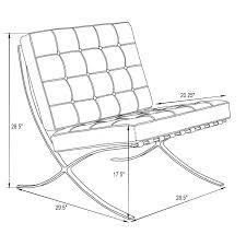 Garage Dimensions Home Design Barcelona Chair Dimensions Bath Remodelers