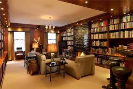 living room library design ideas living room hardwood bookcase home library decorating ideas traditional living room design rock wall long narrow
