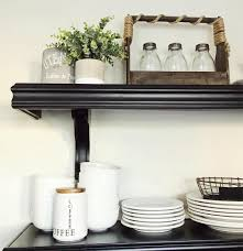rustic kitchen open shelving theliliebag com great blogger